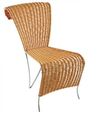 Chaise parchemine